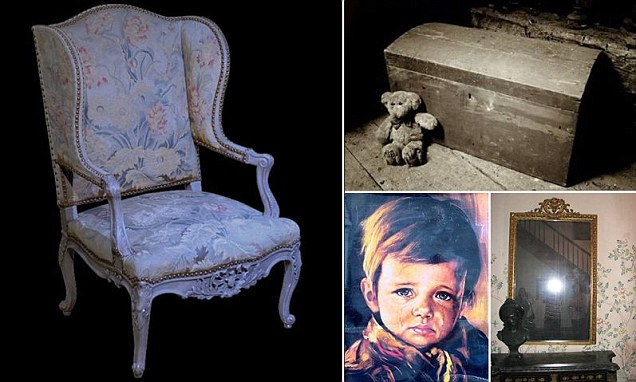 World's most haunted furniture include 'death chair' and conjure chest