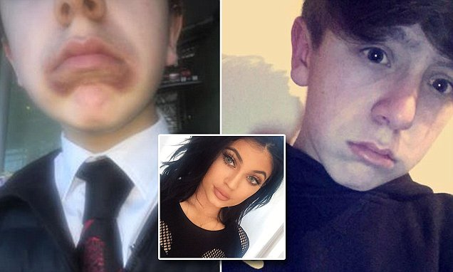 Schoolboy Kevin Coulton urges classmates not to attempt Kylie Jenner challenge