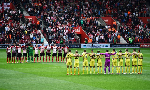 English football remembers 56 fans who lost their lives in Bradford fire as clubs mark