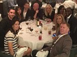 Andrew Cole and his former Man United team-mates Manchester United dinner  Gary Neville Ryan giggs Paul Scholes Nicky Butt