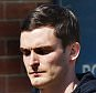 England footballer and Sunderland winger Adam Johnson (right), arrives with his solicitor, at Peterlee Police station in County Durham, where he was charged with three offences of sexual activity with a child under 16 and one of grooming. PRESS ASSOCIATION Photo. Picture date: Thursday April 23, 2015. The 27-year-old Sunderland star attended the police station to answer his bail, where he was charged, Durham Police said. He was initially arrested on Monday March 2, and will appear at Peterlee Magistrates' Court in County Durham next month. See PA story POLICE Footballer. Photo credit should read: Owen Humphreys/PA Wire
