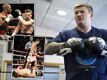 Ricky Hatton speaks to Jeff Powell of the daily Mail.\n27th March 2015.\nPicture By Mark Robinson\n