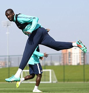 Yaya Toure happy with life at Manchester City, says boss Manuel Pellegrini