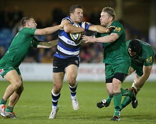 Bath 43-18 London Irish: Sam Burgess stars at the Rec as Mike Ford's side move within one