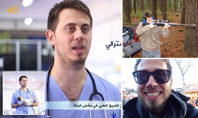Blue-eyed ISIS medic Tareq Kamleh revealed as womaniser who liked alcohol