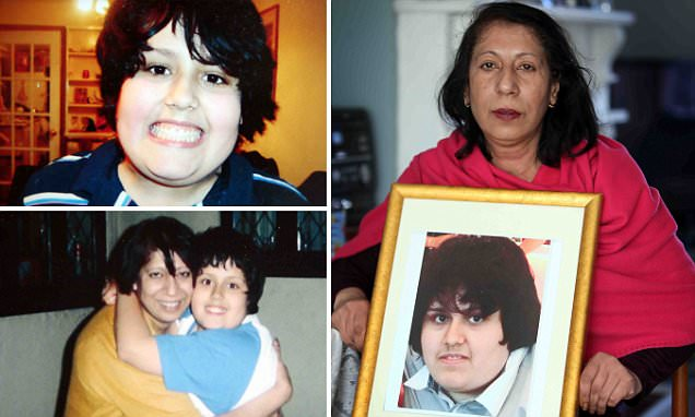 Shaun Appleby's mother's heartbreak as obese teenager dies at just 18