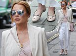 24 Apr 2015 - LONDON - UK  AMERICAN ACTRESS LINDSAY LOHAN SEEN IN MAYFAIR LONDON WITH A FRIEND GOING TO THE ARTS CLUB  BYLINE MUST READ : XPOSUREPHOTOS.COM  ***UK CLIENTS - PICTURES CONTAINING CHILDREN PLEASE PIXELATE FACE PRIOR TO PUBLICATION ***  **UK CLIENTS MUST CALL PRIOR TO TV OR ONLINE USAGE PLEASE TELEPHONE   44 208 344 2007 **
