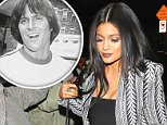 Kylie Jenner wore as little as she could for dinner at Craig's with sister, Kourtney Kardashian and Scott Disick, on Thursday, April 23, 2015 X17online.com