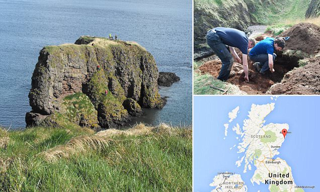 Iron Age stronghold off Scottish coast may have been look-out post
