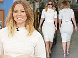 Kimberley Walsh outside ITV Studios Featuring: Kimberley Walsh Where: London, United Kingdom When: 24 Apr 2015 Credit: Rocky/WENN.com