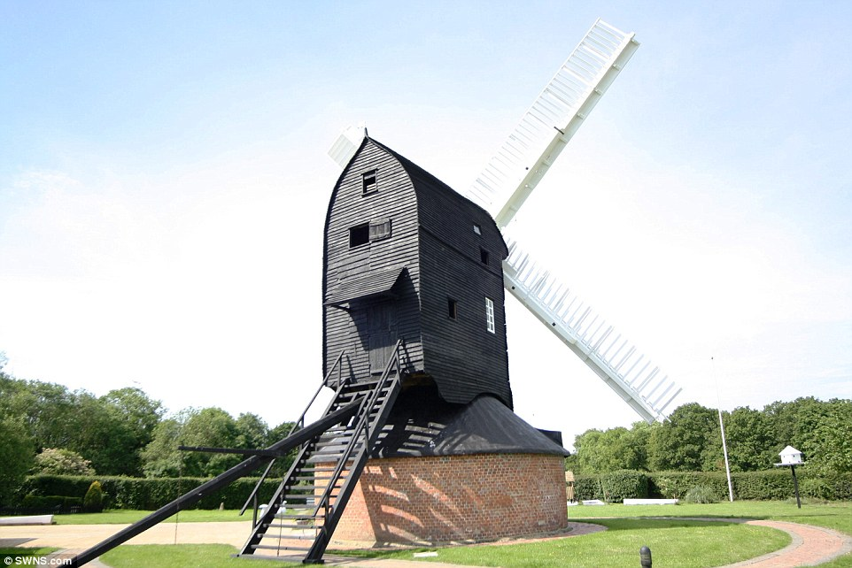 History:Grade I-listed Outwood Mill dates back to a year before the Great Fire of London, and is set in the grounds of the house in the Surrey village of Outwood