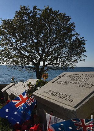 Memorial tour of Turkey's Gallipoli to remember heroes slain 100 years ago