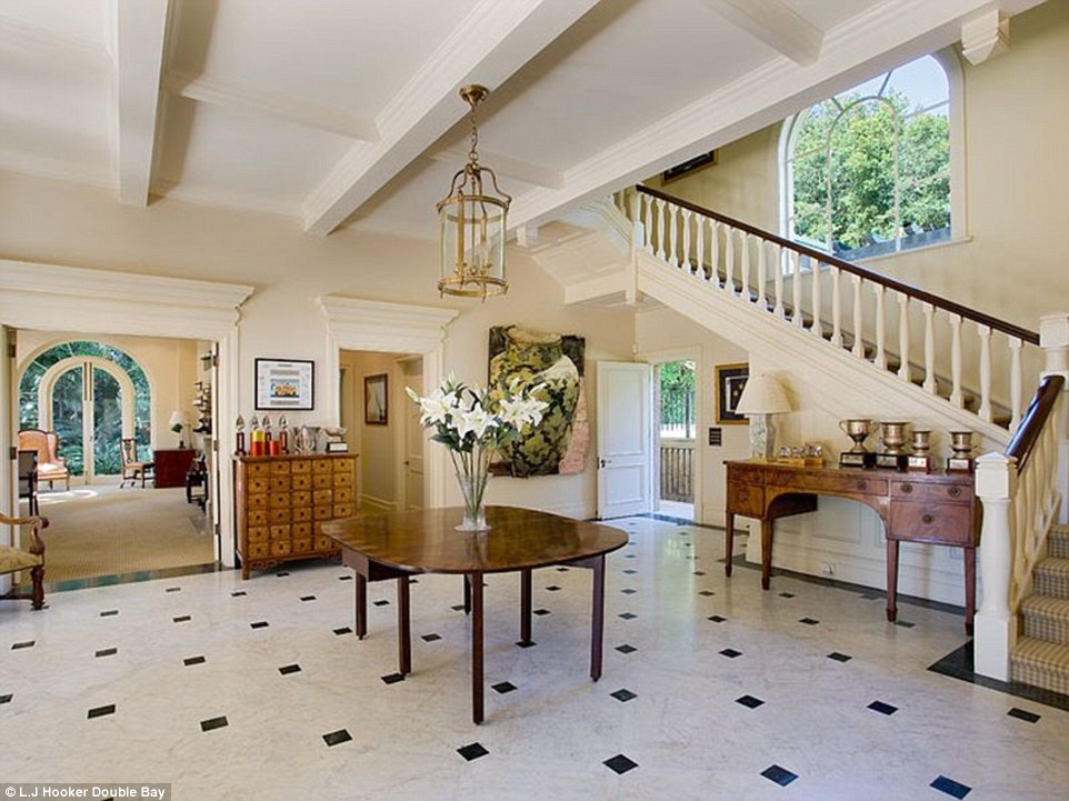 The house was first built in the 1920s and still contains a great sense of grandeur