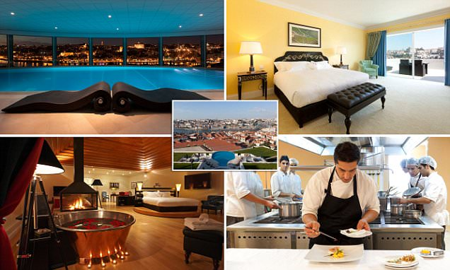 Private wine baths, sweeping views of Porto and a Michelin-starred restaurant: Portugal's