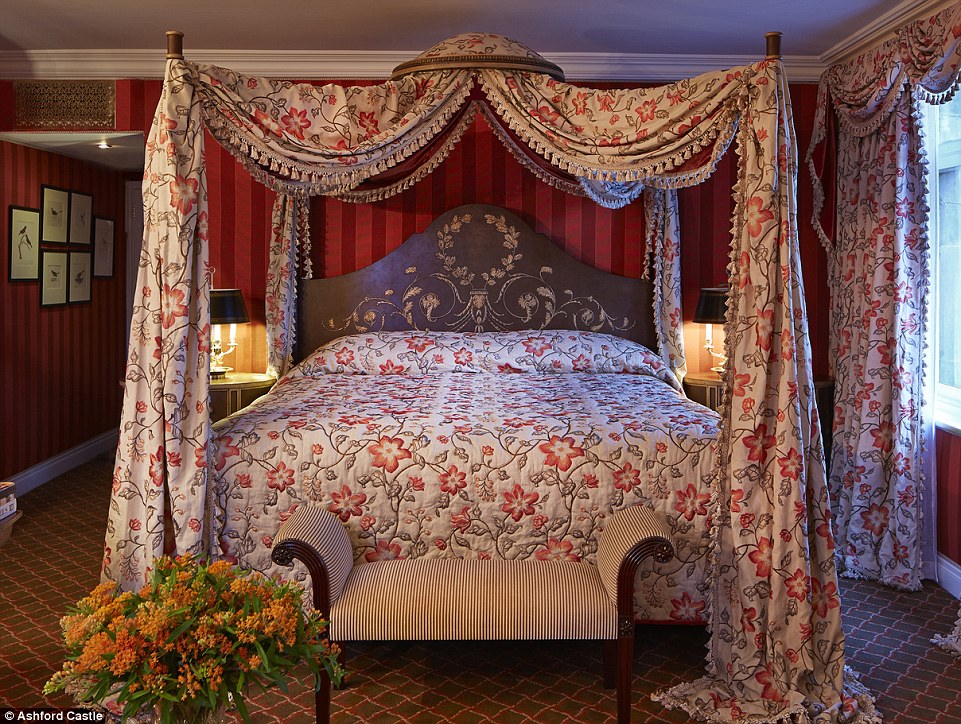 Room for two: choose a stateroom from €285 (£224) a night and you'll sleep in some of the oldest sections of the castle dating back to the 13th and 17th centuries
