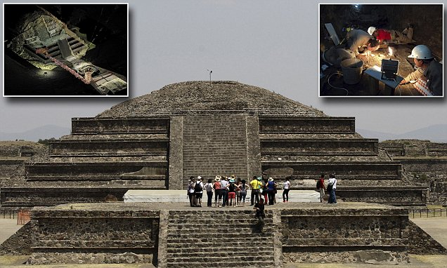 Will secret tunnel inside the bowels of Aztec pyramid reveal long-lost tomb of