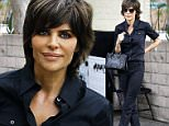 Picture Shows: Lisa Rinna  April 23, 2015\n \n Actress and reality star Lisa Rinna rocks an all black ensemble while enjoying lunch at Palm in Beverly Hills, California.\n \n Non-Exclusive\n UK RIGHTS ONLY\n \n Pictures by : FameFlynet UK © 2015\n Tel : +44 (0)20 3551 5049\n Email : info@fameflynet.uk.com