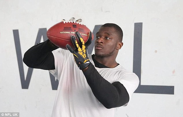 Efe Obada joins the Dallas Cowboys next month after a whirlwind year and just five American football games