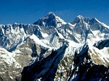 Mount Everest, Himalayas.  BNR4NM
