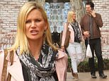 *** Fee of £100 applies for subscription clients to use images before 22.00 on 250415 ***\nEXCLUSIVE ALLROUNDERNatasha Henstridge and her ex-husband Darius Campbell go shopping together at The Grove in Hollywood\nFeaturing: Natasha Henstridge, Darius Campbell\nWhere: Hollywood, California, United States\nWhen: 24 Apr 2015\nCredit: WENN.com