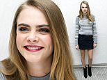 Mandatory Credit: Photo by Action Press/REX Shutterstock (4710812c)  Cara Delevingne  'Paper Towns' press conference at the London Hotel, West Hollywood, Los Angeles, America - 24 Apr 2015