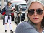 Hollywood, CA - Multi-Talented busy mother Hilary Duff and her cute boy Luca attend a Bday party in Hollywood on this Saturday morning. Hilary Duff recently dished on her diet and exercise routine for the new issue of Shape magazine, sharing the sane ways she stays happy and healthy. The Younger actress, 27, looks better than ever on the cover of the fitness mag, showing off her toned stomach in a lightweight pink cardigan over a patterned plunging swimsuit top, paired with low-slung denim. Now back on the market after splitting from husband Mike Comrie in 2014, Duff is staying slim thanks to an active lifestyle and moderate eating habits\nAKM-GSI       April 25, 2015\n \n To License These Photos, Please Contact :\n \n Steve Ginsburg\n (310) 505-8447\n (323) 423-9397\n steve@akmgsi.com\n sales@akmgsi.com\n \n or\n \n Maria Buda\n (917) 242-1505\n mbuda@akmgsi.com\n ginsburgspalyinc@gmail.com