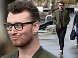 "**EXCLUSIVE**\n\nEnglish singer Sam"" Smith heading out on the Sydney Habour on a wet Sunday afternoon in Sydney."