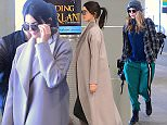 Kendall Jenner and BFF Cara Delevingne were spotted arriving at JFK airport in NYC. The model pair walked through the terminal with effortless chic. Kendall had a smile on her face despite the recent controversy and her father's interview and announcement to Diane Sawyer in front of 17 million people.\n\nPictured: Kendall Jenner, Cara Delevingne\nRef: SPL1008680  250415  \nPicture by: 247PAPS.TV / Splash News\n\nSplash News and Pictures\nLos Angeles: 310-821-2666\nNew York: 212-619-2666\nLondon: 870-934-2666\nphotodesk@splashnews.com\n