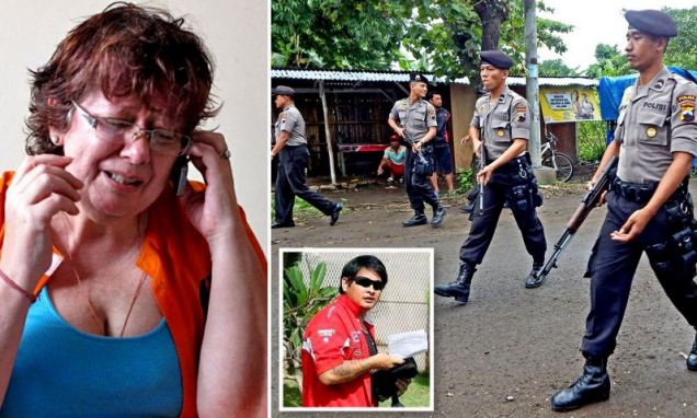 Next in line for the firing squad: British drug mule granny on Bali's 'Execution Island'