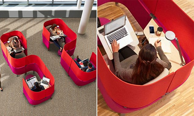 Office furniture company designs 'alternative to enclaves' for the office
