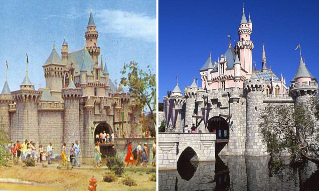 Now and then: $1 tickets, three births and TWO BILLION visitors... a journey through