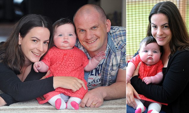 Mum's joy at miracle baby after ten miscarriages in ten years