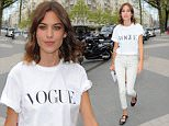 OIC - PHOTOBEATIMAGES.COM  -\nAlexa Chung at the Vogue Festival at the Royal Geographical Society London 25th April 2015\nPhoto:  by Photobeat Images/OIC 07732 500674 -  0203 174 1069