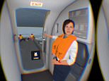 World's first emergency water landing virtual reality experience