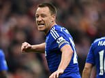 Chelsea FC via Press Association Images MINIMUM FEE 40GBP PER IMAGE - CONTACT PRESS ASSOCIATION IMAGES FOR FURTHER INFORMATION. Chelsea's John Terry celebrates after the final whistle.