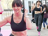 Mandatory Credit: Photo by REX Shutterstock (4715450i)  Davina McCall  Celebrities at the ITV studios, London, Britain - 27 Apr 2015