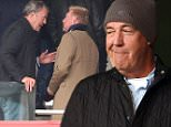 EX BBC Top Gear presenter, Jeremy Clarkson chats to Boris Becker at the full time whistle after watching Arsenal v Chelsea from the stands at Emirates Stadium. - Photo mandatory by-line: Dan Weir/Pinnacle - Tel: +44(0)1363 881025 - Mobile:0797 1270 681 - VAT Reg No: 183700120 - 26/04/15 - SPORT - Football- Premier League - Premiership - Arsenal v Chelsea - Emirates Stadium, Islington, London.