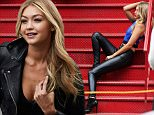 Gigi Hadid poses for a Maybelline photo shoot in NYC.  Gigi posed for a Maybelline photo shoot in NYC's Chinatown neighborhood on Sunday afternoon/evening.\n\nPictured: Gigi Hadid\nRef: SPL1010206  260415  \nPicture by: Tom Meinelt / Splash News\n\nSplash News and Pictures\nLos Angeles: 310-821-2666\nNew York: 212-619-2666\nLondon: 870-934-2666\nphotodesk@splashnews.com\n
