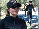 Picture Shows: Lisa Rinna  April 26, 2015    Actress and reality star Lisa Rinna spotted out for a hike at the TreePeople Park in Studio City, California.     It was recently announced that Lisa will play Kris Jenner in a O.J. Simpson murder trial miniseries!     Exclusive - All Round  UK RIGHTS ONLY    Pictures by : FameFlynet UK © 2015  Tel : +44 (0)20 3551 5049  Email : info@fameflynet.uk.com