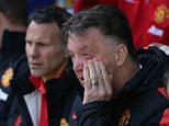 April 26th 2015 - Liverpool, UK - EVERTON V MAN UTD - Man Utd LOIUS VAN GAAL PIcture by Ian Hodgson/Daily Mail