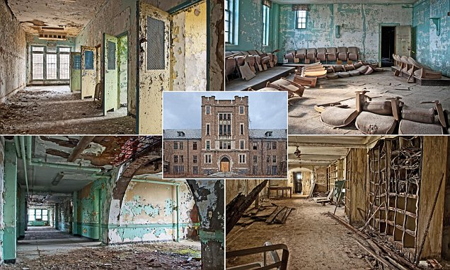 Pictures show decaying interior of Greystone Park Psychiatric Center in New Jersey