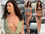 EXCLUSIVE: Lucy Mecklenburgh seen on a shoot in Dubai for her fitness business Results with Lucy