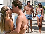 Picture Shows: Joey Essex  April 22, 2015\n \n ** no web till midnight sunday night 25th then £400 for online **\n \n \n British TV Personality Joey Essex is spotted on Nasimi beach in Dubai getting cosy with his new girlfriend.\n \n The couple strolled down the beach hand in hand before being spotted kissing in the sea.\n \n Joey seems to have moved on from the comments ex-girlfriend Sam Faiers made about their relationship where it's reported that she claimed he was paranoid, delusional, and consumed with thoughts of her cheating on him.\n \n ** no web till midnight sunday night 25th then £400 for online **\n \n \n Exclusive All Rounder\n WORLDWIDE RIGHTS\n \n Pictures by : FameFlynet UK © 2015\n Tel : +44 (0)20 3551 5049\n Email : info@fameflynet.uk.com