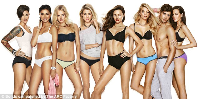 Bonds girls! The brand is celebrating 100 years of underwear with a celebrity-heavy campaign featuring Iggy Azalea, Elyse Taylor, Ruby Rose and Rachael Taylor along with other big names
