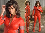 """26 apr 2015 - ROME - ITALY **AVAILABLE FOR UK ONLY** PENELOPE CRUZ LOOKS RED HOT ON THE SET OF THE MOVIE """"ZOOLANDER 2"""" IN ROME BYLINE MUST READ : CIAOPIX/XPOSUREPHOTOS.COM ***UK CLIENTS - PICTURES CONTAINING CHILDREN PLEASE PIXELATE FACE PRIOR TO PUBLICATION *** **UK CLIENTS MUST CALL PRIOR TO TV OR ONLINE USAGE PLEASE TELEPHONE 44 208 344 2007**"""