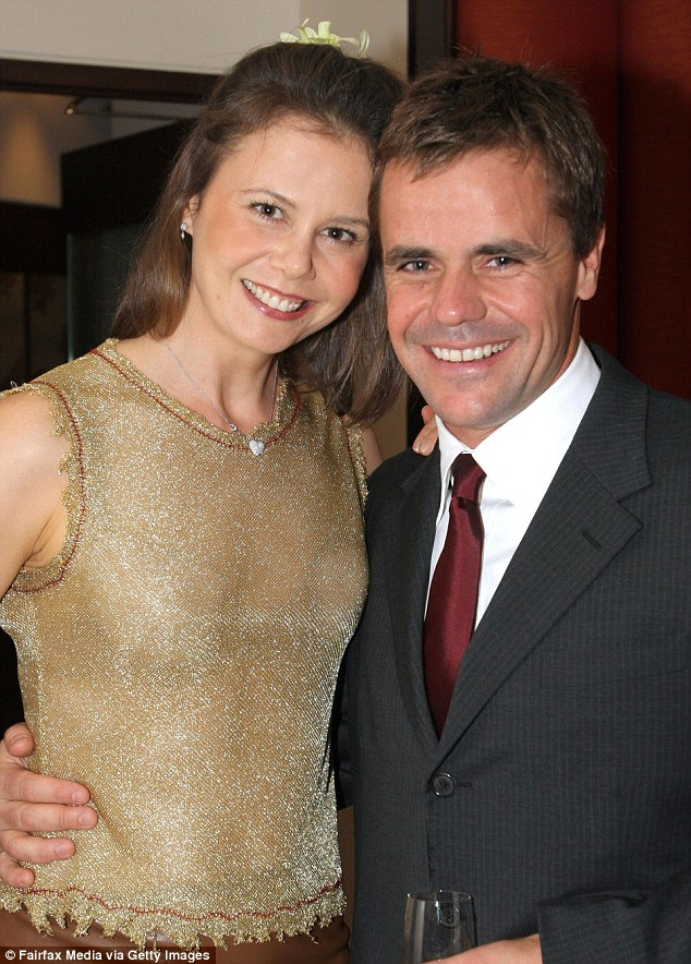 'He didn't have heart problems' Angus Hawley's brother reveals shock after ex-husband of Antonia Kidman dies from a suspected heart attack in New York after 'returning from a swim'. Angus and Antonia pictured together in 2005 at the Chuan Spa opening in the Langham Hotel