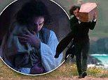 PRINT BEFORE WEB  Poldark episode 8 Strict Embargo 23.00 Friday 24/4/15.  Plot Spoiler alert !  Poldark ( Aidan Turner)  carries coffin of daughter