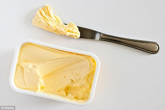 If you can have dairy, you should always try to eat organic butter rather than margarine