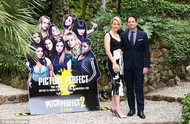 First: Max was in Rome to support his wife who made her directorial debut with Pitch Perfect 2
