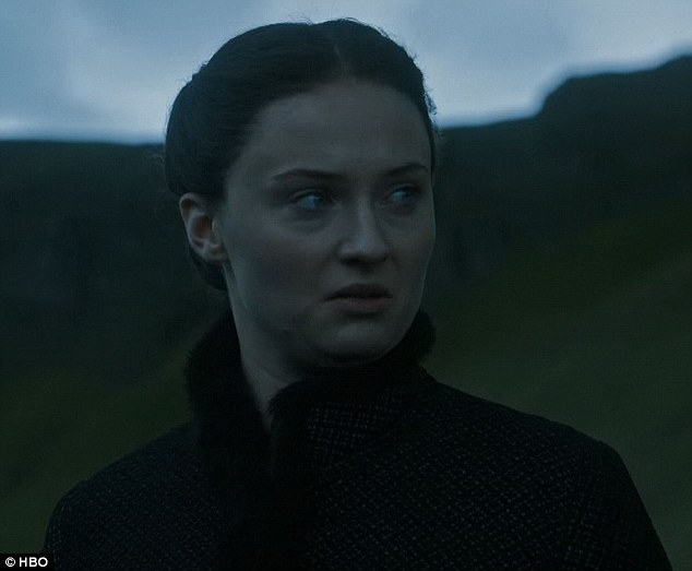 Seeking justice: Sansa was disgusted at the thought of marrying Ramsay Bolton